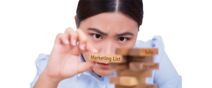 UK B2B marketing lists that are 'Safe to send'