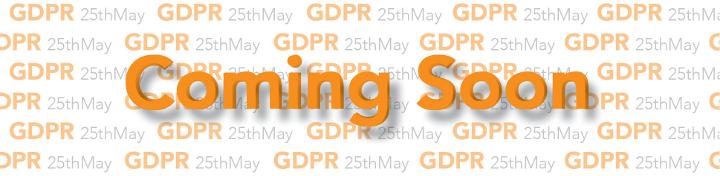 GDPR coming soon